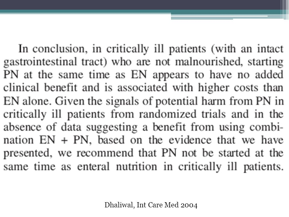 Dhaliwal, Int Care Med 2004