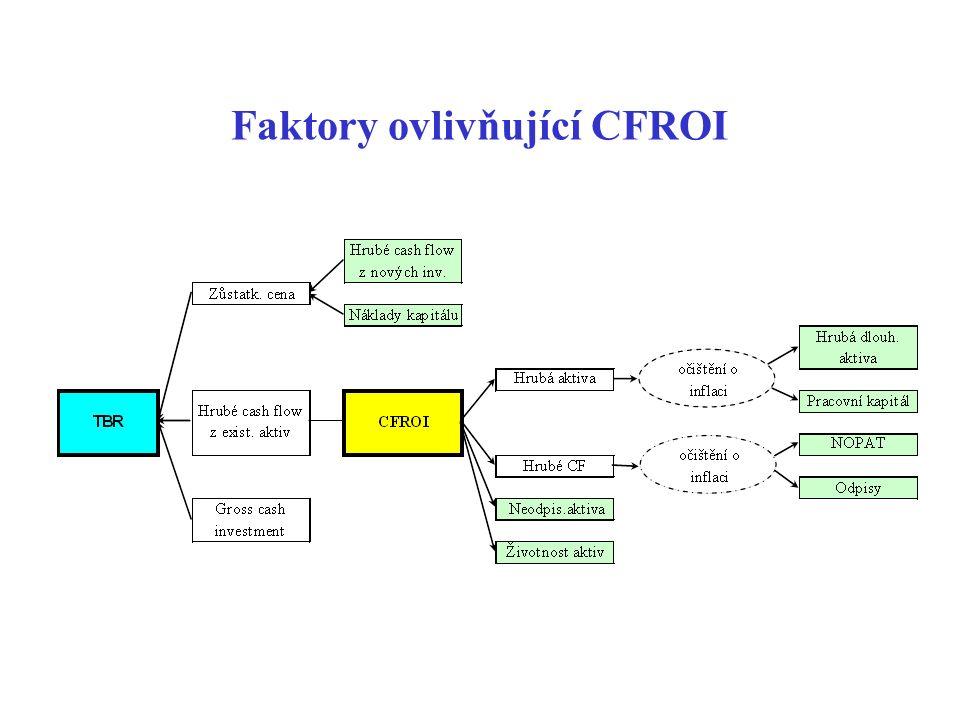 Faktory ovlivňující CFROI