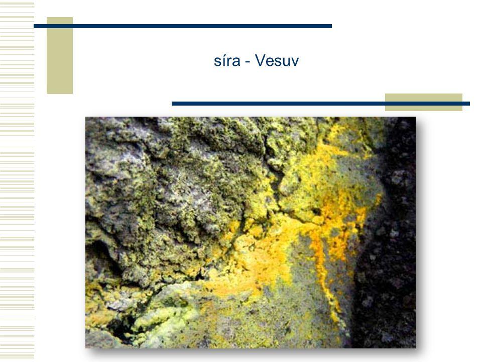 síra - Vesuv