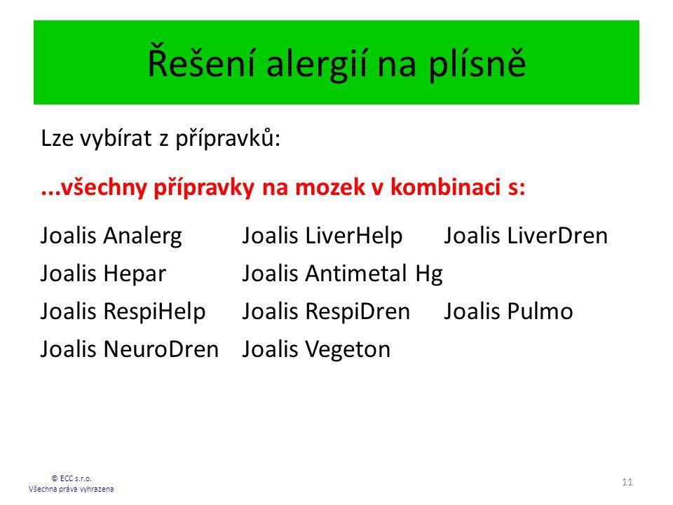 Řešení alergií na plísně © ECC s.r.o.
