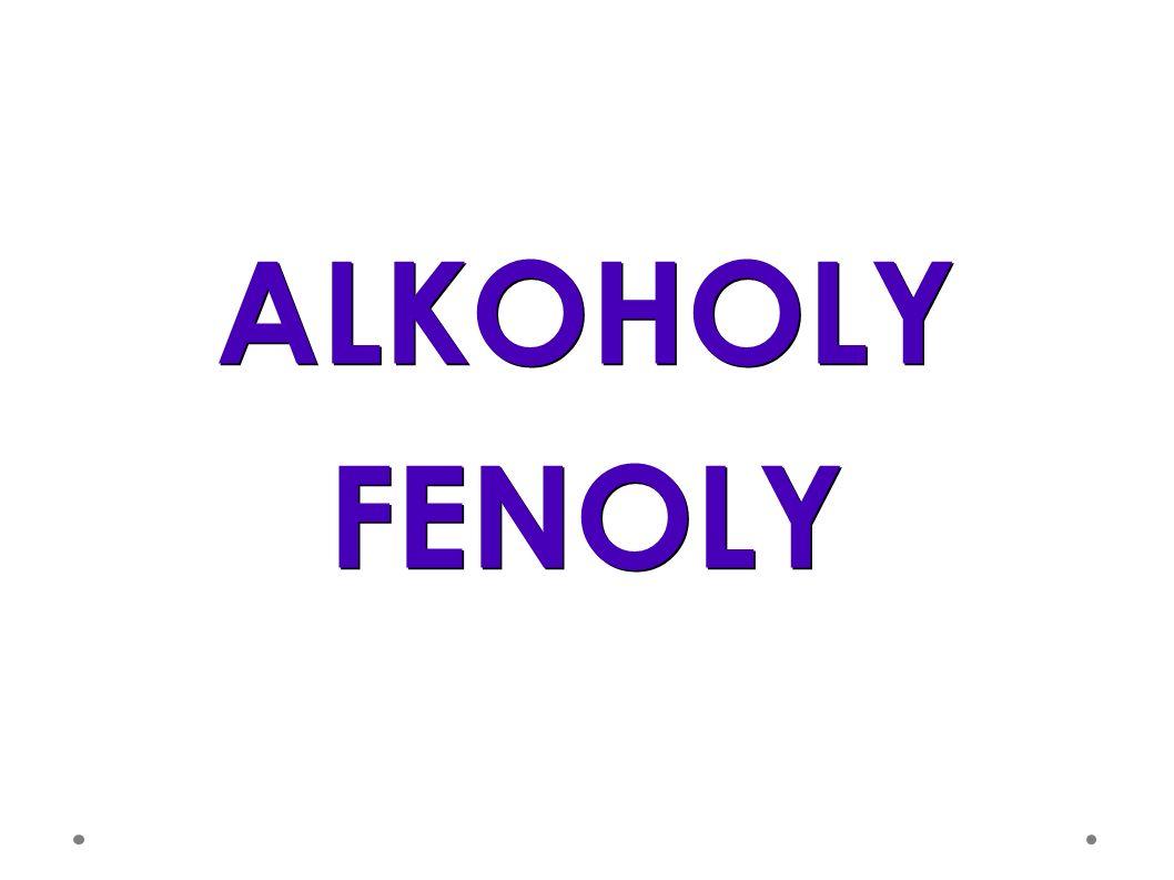 ALKOHOLYFENOLY