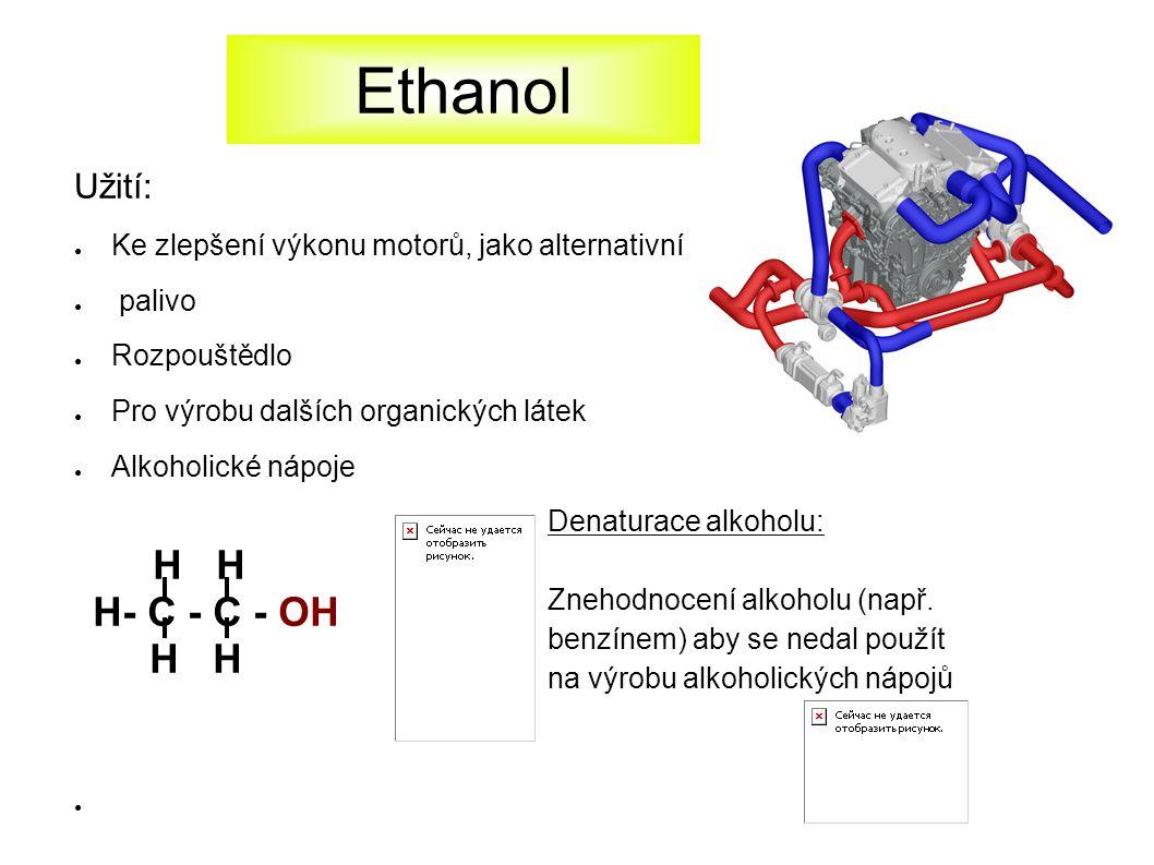 Alkoholické nápoje a lidský organismus Ethanol obsažený v alkoholických nápojích má omamné účinky.