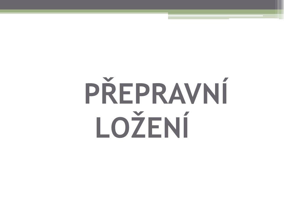 Použité zdroje: PERNICA, Petr.Logistika pro 21. století 2.díl.