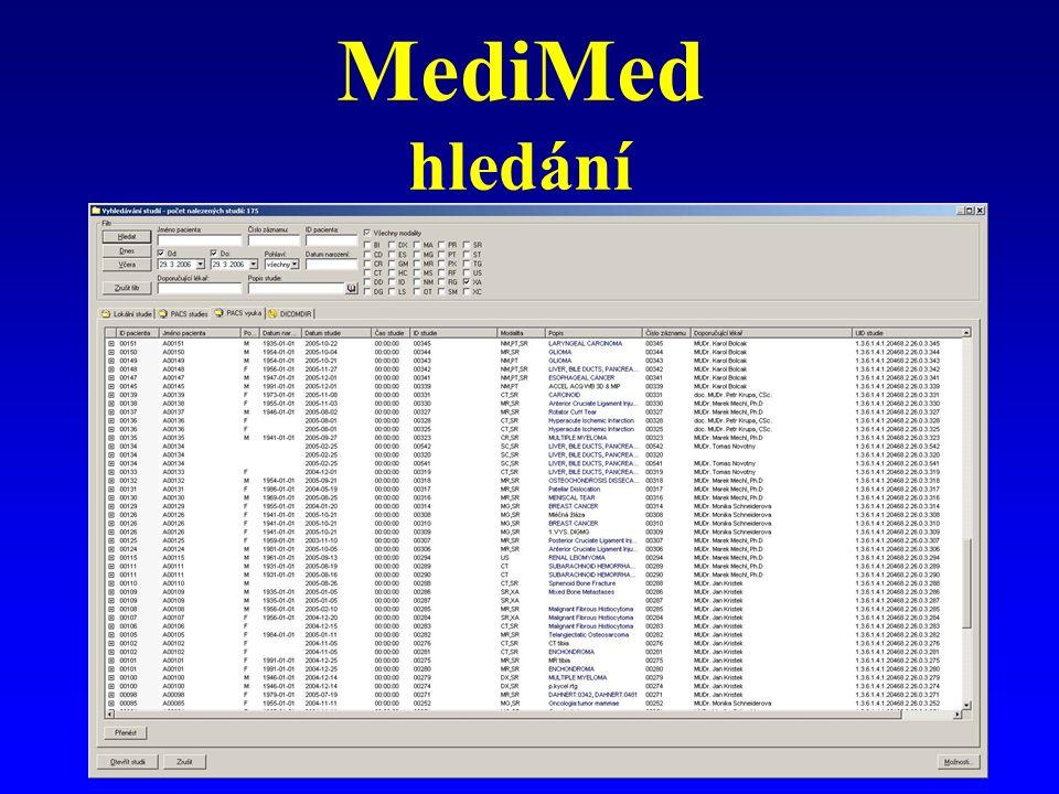 MediMed hledání