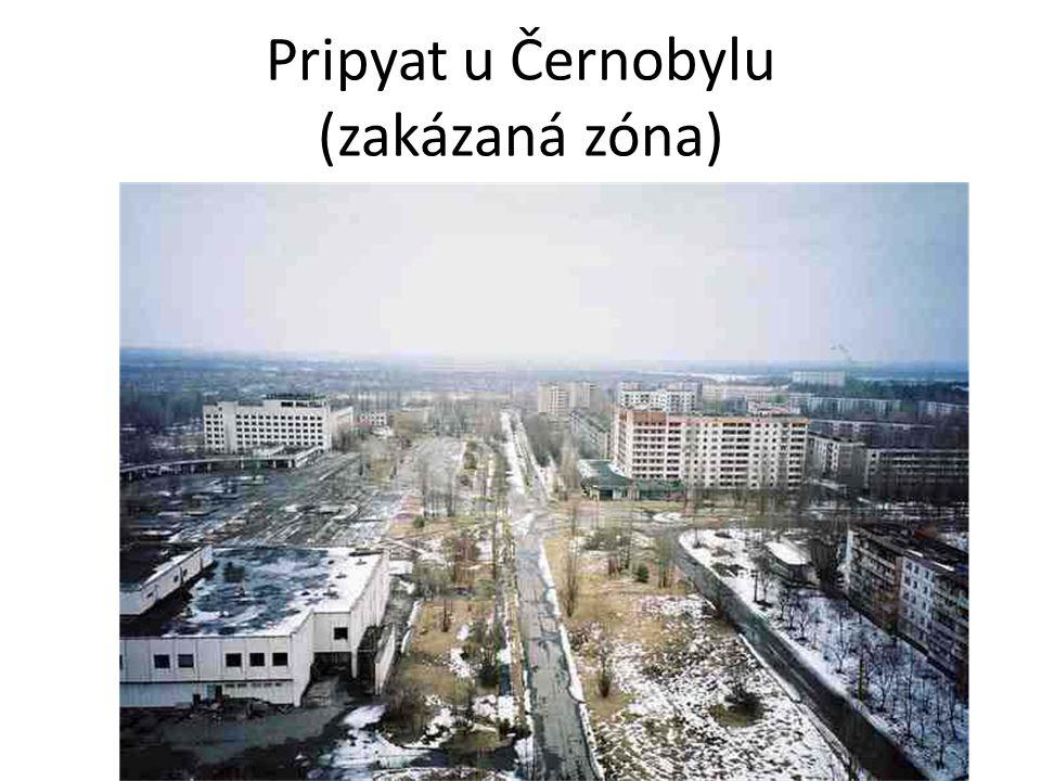 Pripyat u Černobylu (zakázaná zóna)