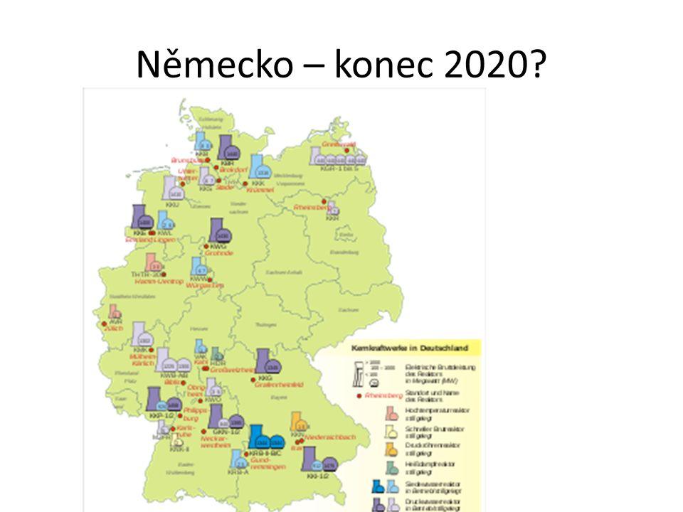 Německo – konec 2020