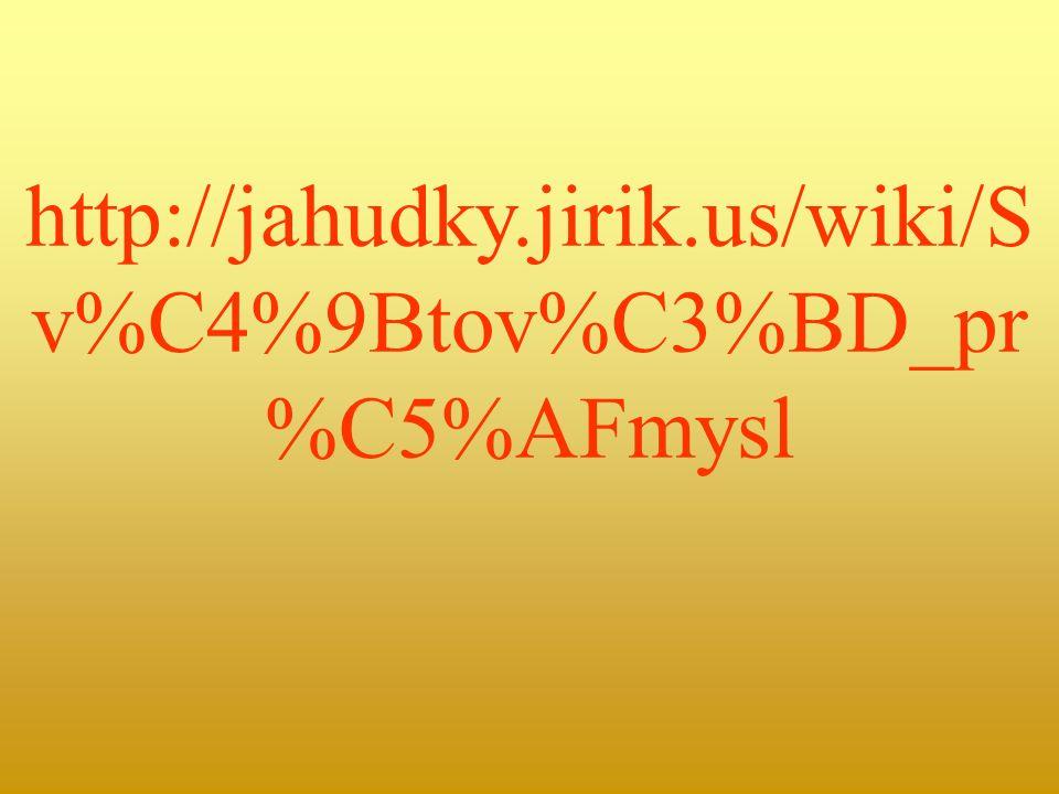 http://jahudky.jirik.us/wiki/S v%C4%9Btov%C3%BD_pr %C5%AFmysl