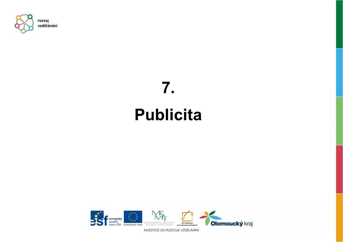 7. Publicita