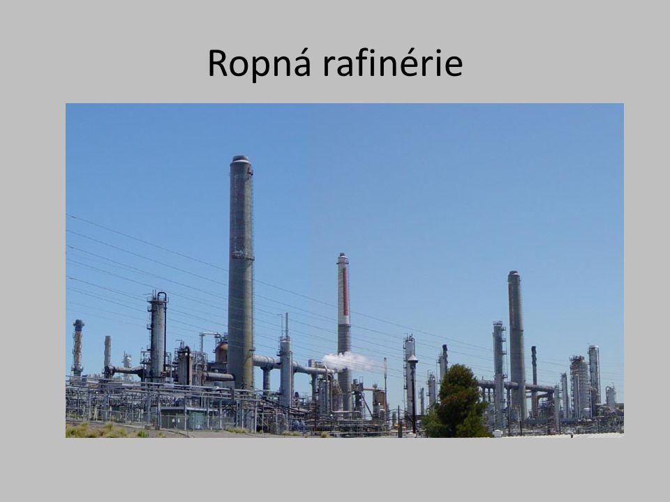 Ropná rafinérie