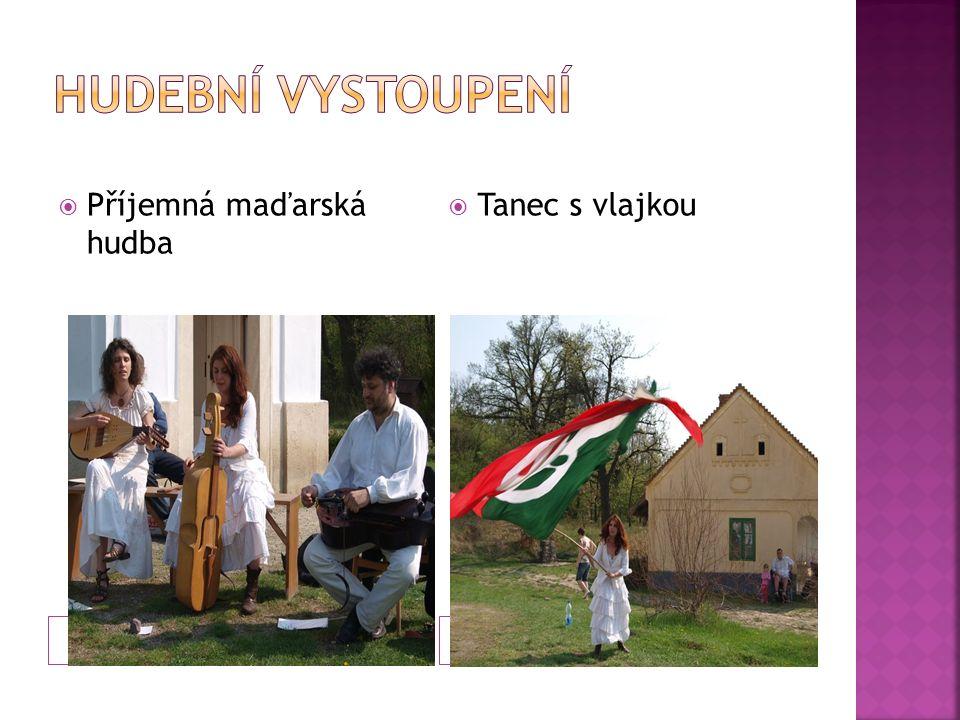  Příjemná maďarská hudba  Tanec s vlajkou