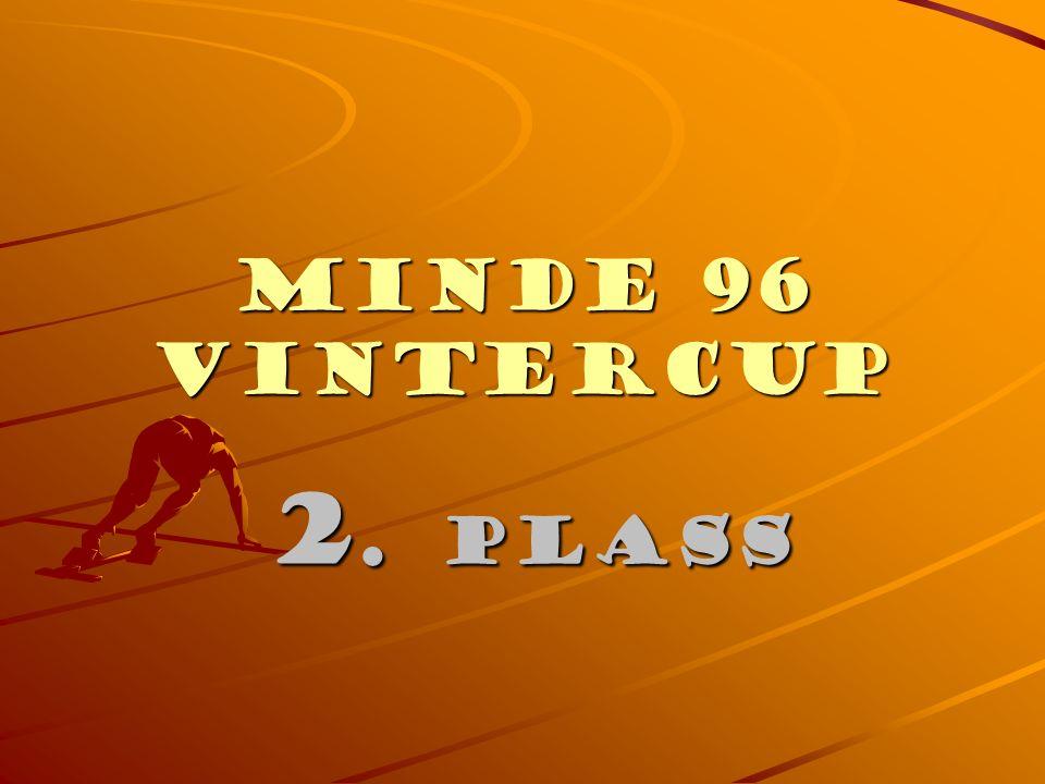 Minde 96 Vintercup 3. PLASS