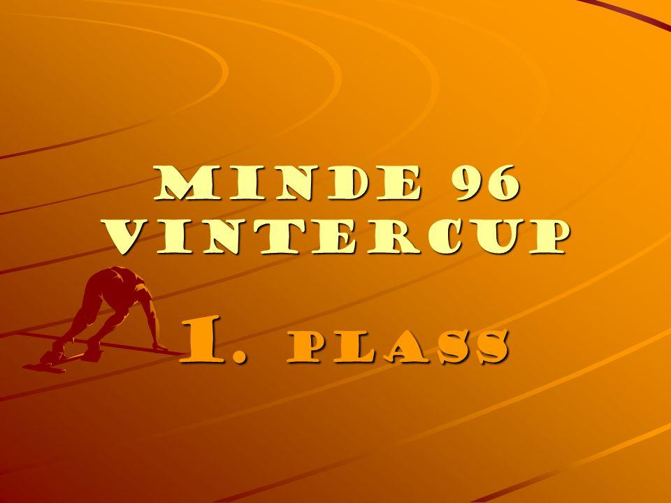 Minde 96 Vintercup 2. PLASS