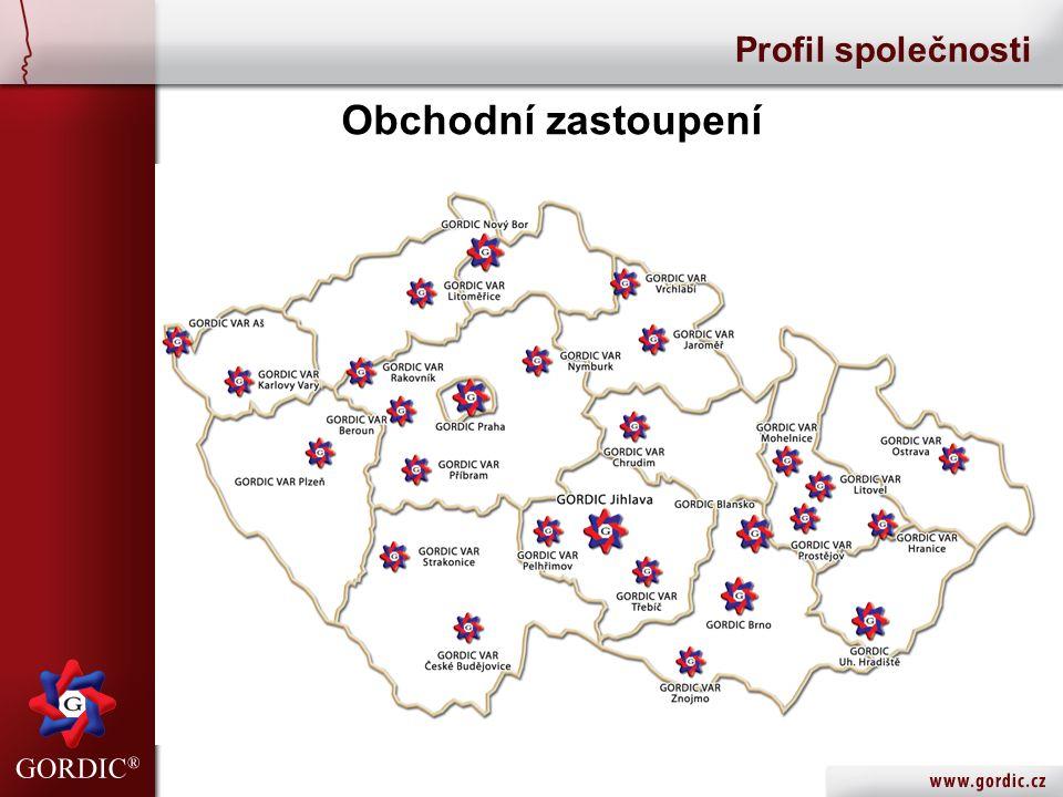 Obchodní zastoupení Profil společnosti