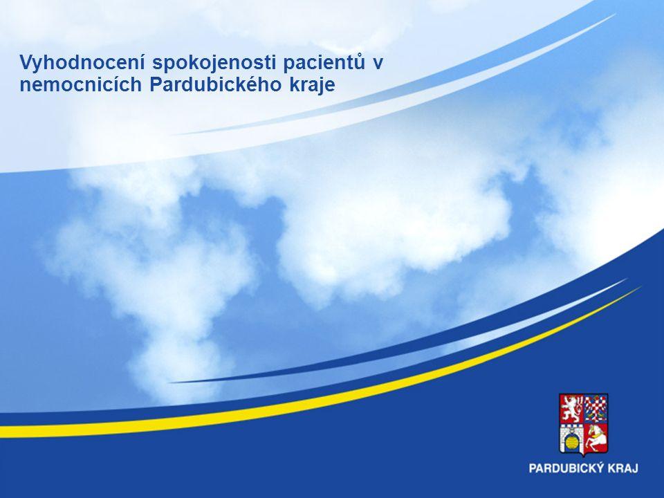 DOTAZNÍKOVÉ ŠETŘENÍ SPOKOJENOSTI PACIENTŮ V NEMOCNICÍCH Pk REALIZACE PRŮZKUMU: SRPEN - ZÁŘÍ 2012 POČET RESPONDENTŮ : 2304 První společný projekt čtyř nemocnic Pk ve sledování spokojenosti pacientů (Litomyšlská nemocnice byla součástí jiného dlouhodobého průzkumu, připojila se od 1.11.