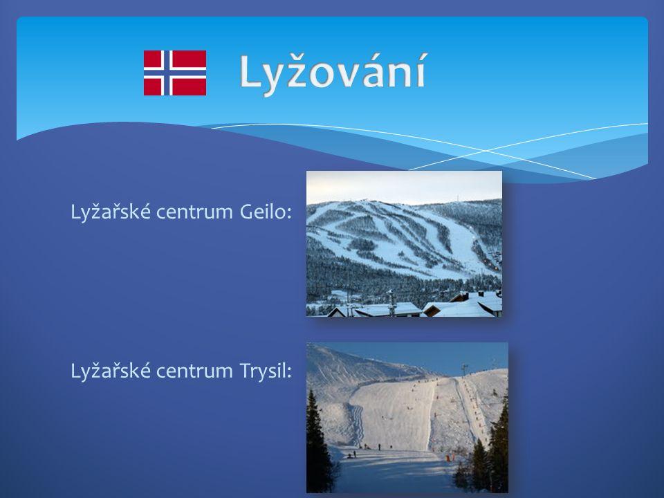 Lyžařské centrum Geilo: Lyžařské centrum Trysil: