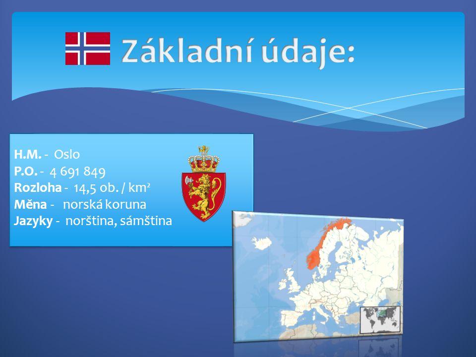 H.M. - Oslo P.O. - 4 691 849 Rozloha - 14,5 ob.