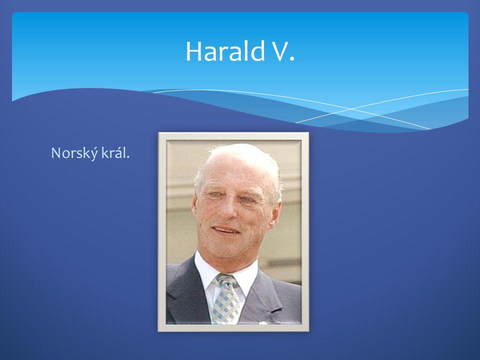 Norský král. Harald V.