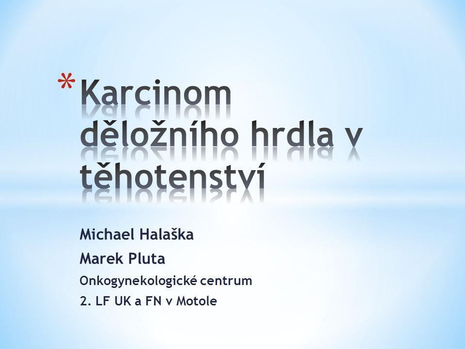 Michael Halaška Marek Pluta Onkogynekologické centrum 2. LF UK a FN v Motole