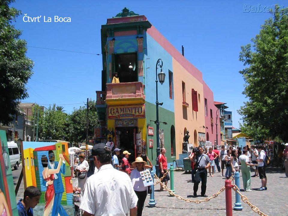 Čtvrť La Boca