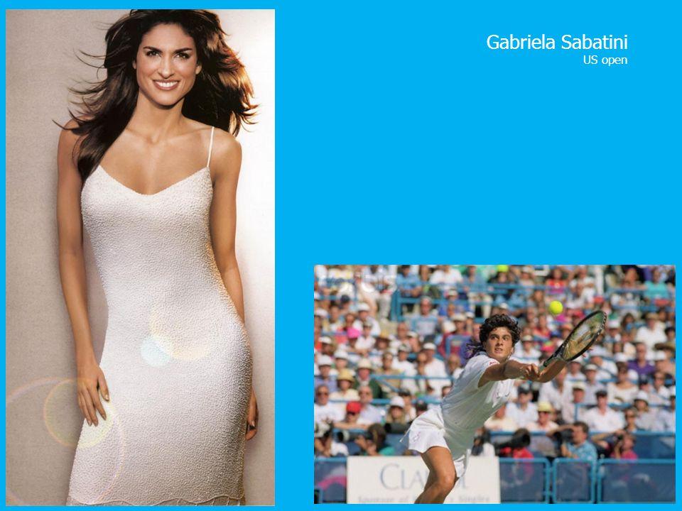 Gabriela Sabatini US open