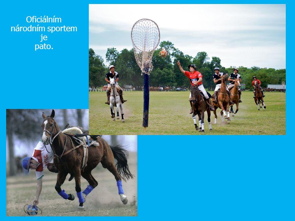 Oficiálním národním sportem je pato.