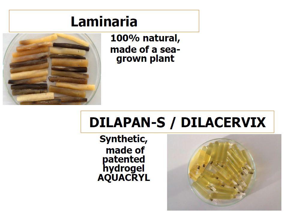 """Dilapan-S základní charakteristika Dilapan-S je hydrofilní dilatátor děložního hrdla vyrobený z patentovaného hydrogelu AQUACRYL neobsahuje žádné """"účinné látky - lékové komponenty , které by se uvolňovaly v průběhu použití sterilizace gama zářením český výrobek, ruční výroba používán ve více než 20 zemích"""