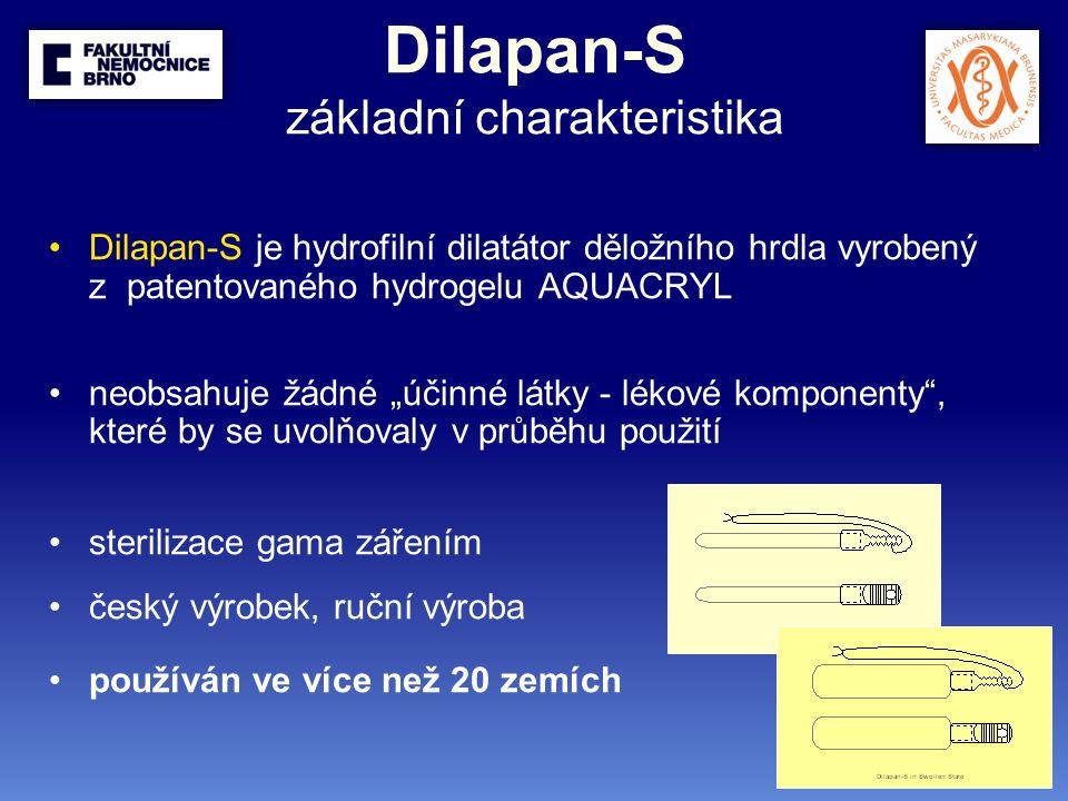 Výsledky - efektivita délka preindukce n Mean (hodin) Median (hodin) Min (hodin) Max (hodin) všechny pacientky9616.99 18 224 pacientky s SC v anamnéze3517.54 18 224 pacientky bez SC v anamnéze6116.67 18 524 Osmotický dilatátor Dilapan-S v preindukci porodu obvyklý způsob preindukce Dilapanem-S = preindukce přes noc minimální doporučená délka preindukce = 4 hodiny s počtem zavedených dilatátorů se délka preindukce zkracuje