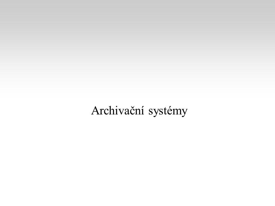Archivační systémy