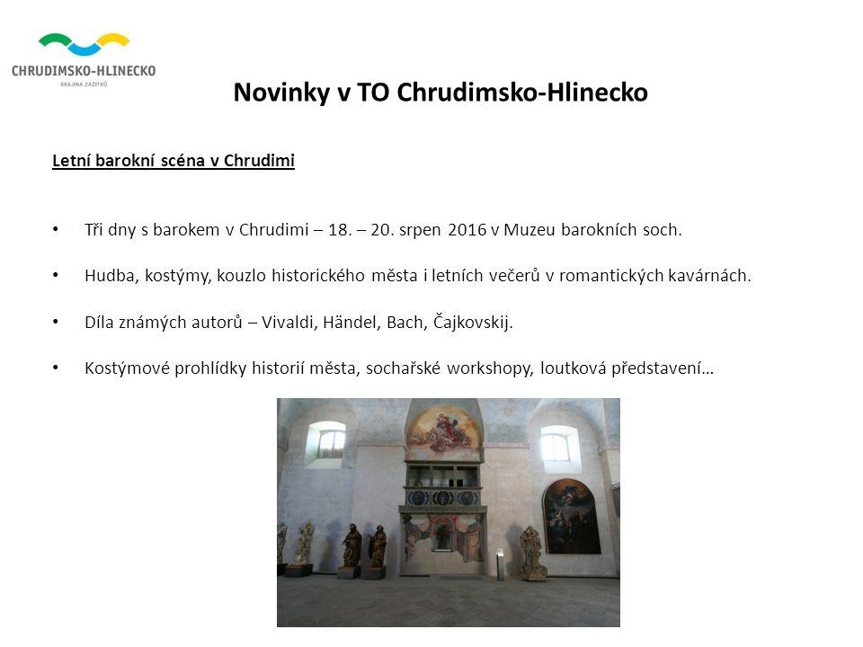 Novinky v TO Chrudimsko-Hlinecko Letní barokní scéna v Chrudimi Tři dny s barokem v Chrudimi – 18.