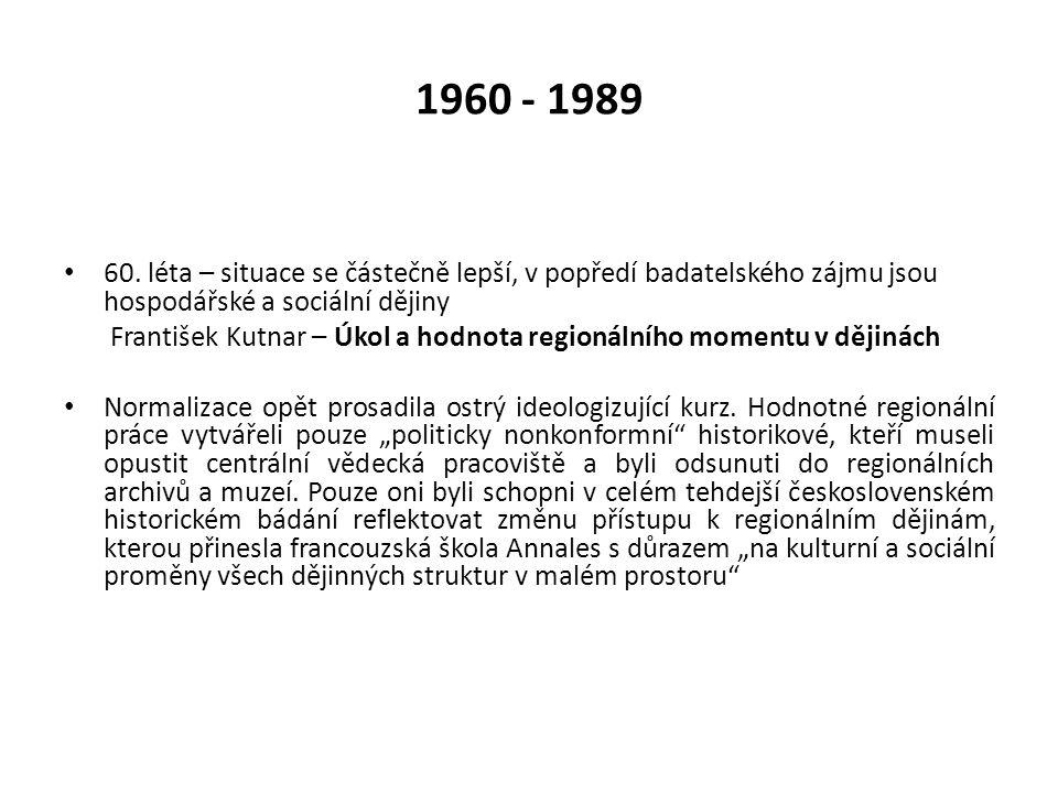 1960 - 1989 60.