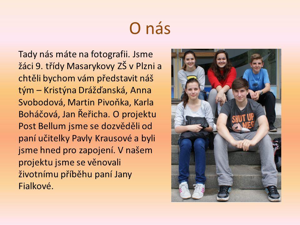 Jana Fialková Premiantka, která nesměla studovat