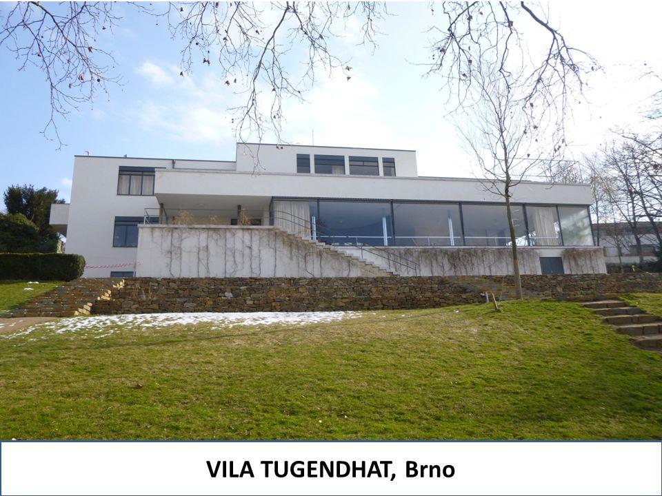 VILA TUGENDHAT, Brno