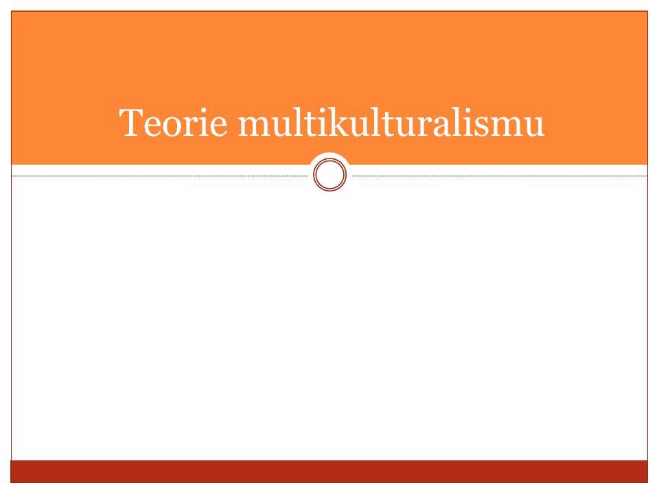 Teorie multikulturalismu