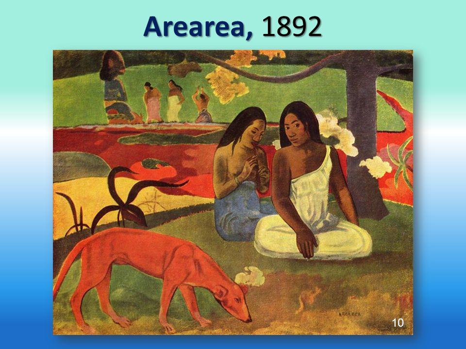 Arearea, 1892 10