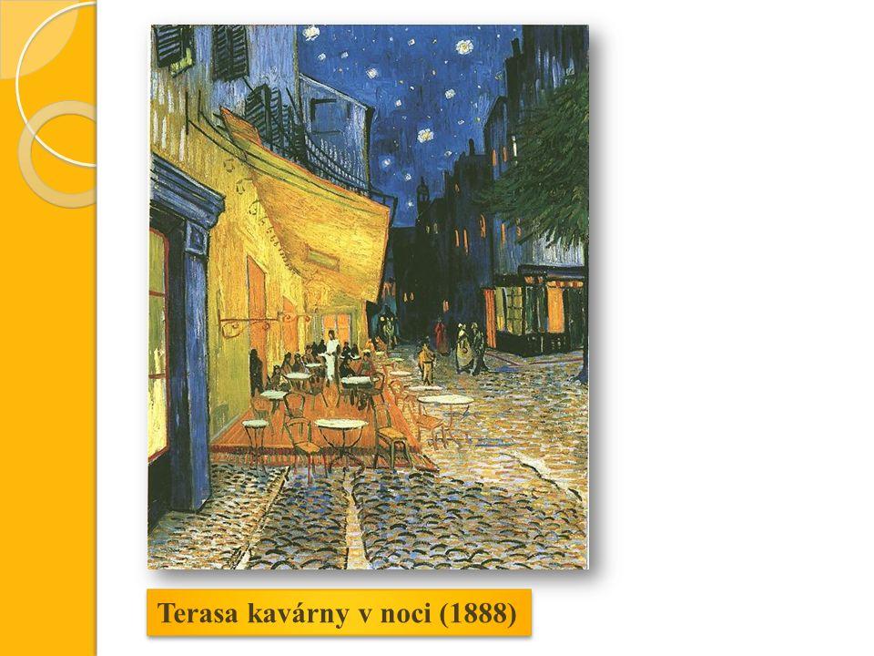 Terasa kavárny v noci (1888)