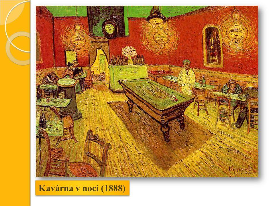 Kavárna v noci (1888)