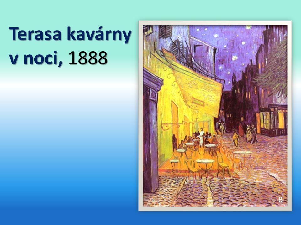Terasa kavárny v noci, 1888 8
