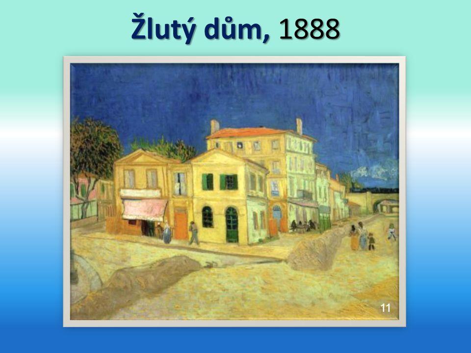Žlutý dům, 1888 11