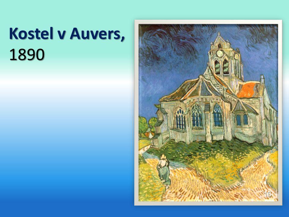 Kostel v Auvers, 1890 16