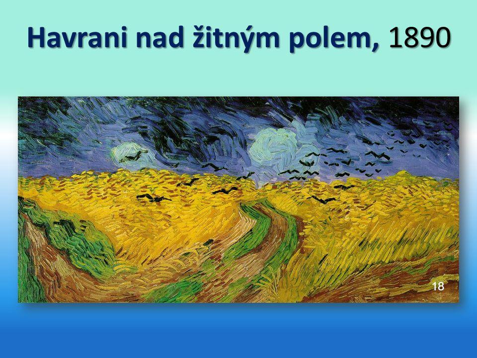 Havrani nad žitným polem, 1890 AUTOR NEUVEDEN. 18