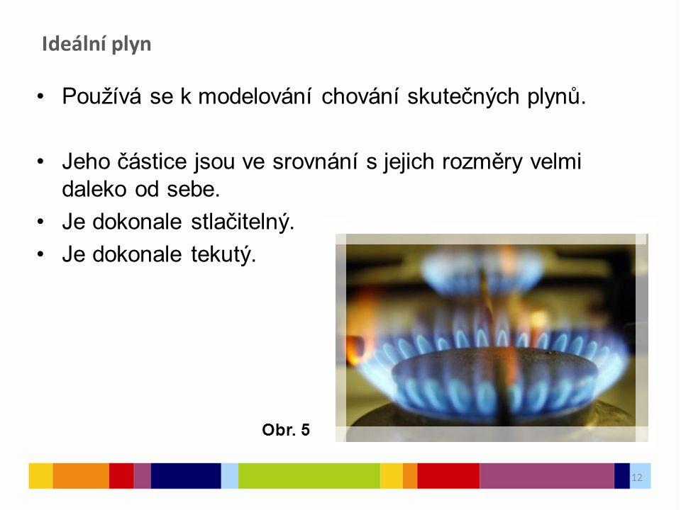 Používá se k modelování chování skutečných plynů.