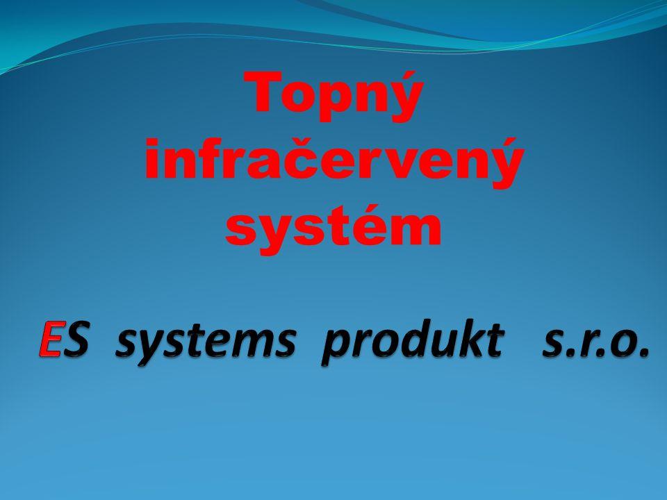 Topný infračervený systém