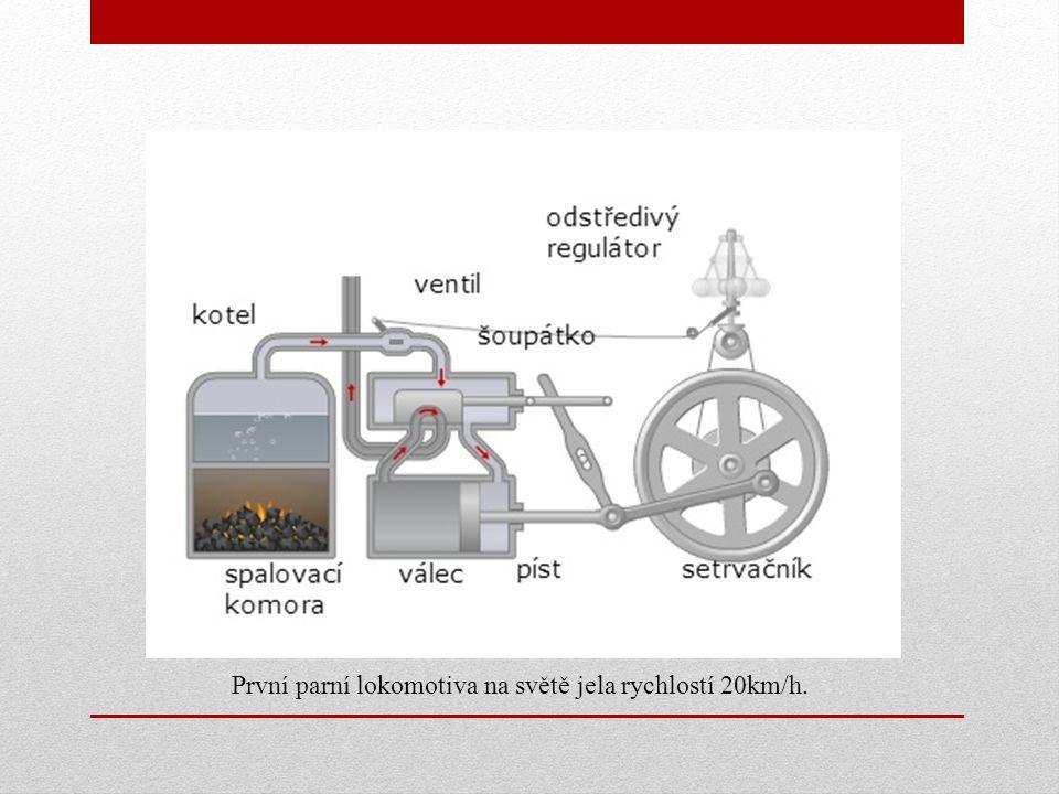 Motory U dopravních prostředků byl parní stroj nahrazen spalovacími a zážehovými motory (my si probereme jen spalovací) .