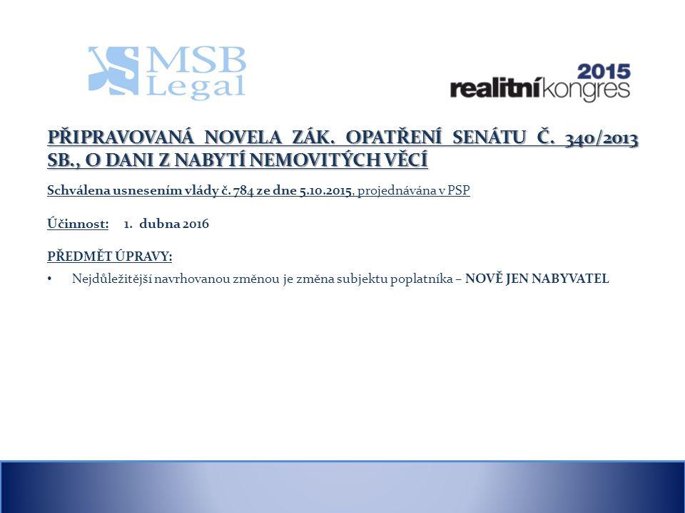 VYHLÁŠKA Č. 269/2015 SB. – PROVÁDÍ ZÁKON Č. 67/2013 SB.