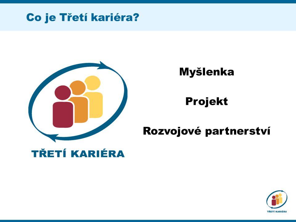 Co je Třetí kariéra Myšlenka Projekt Rozvojové partnerství