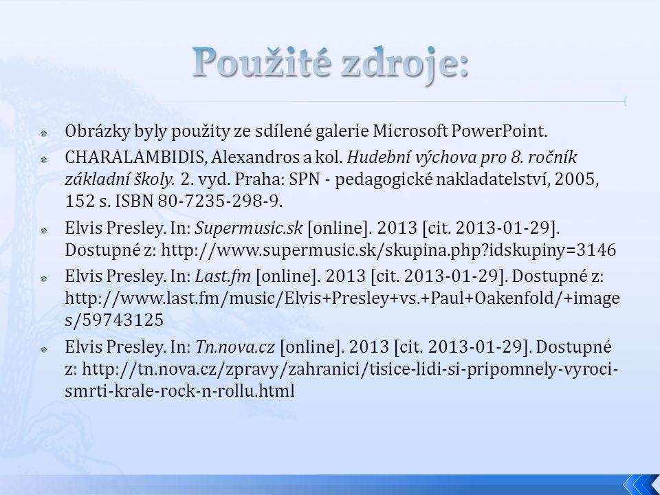  Obrázky byly použity ze sdílené galerie Microsoft PowerPoint.