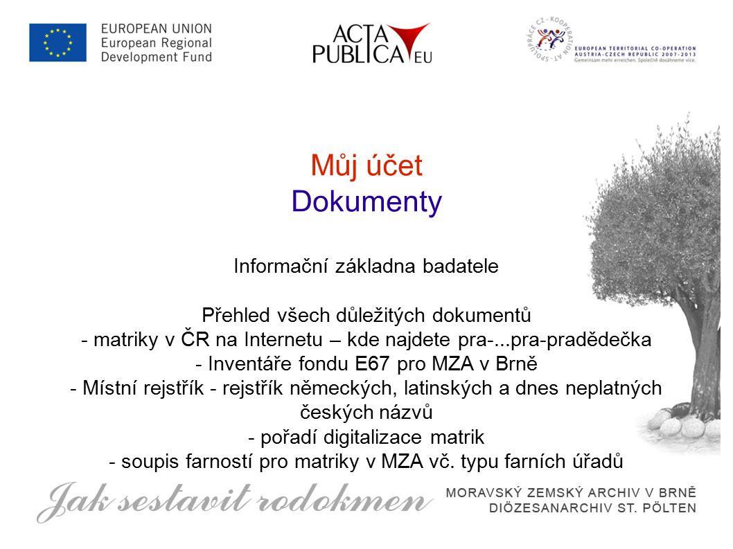 Můj účet Přátelé, zprávy a nástěnka Sociální sítě hýbou českou genealogií Mageo Okoun Facebook...a Acta Publica :)