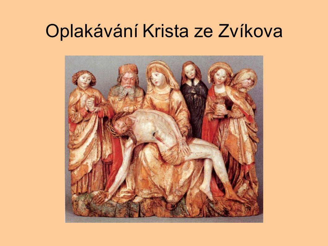 Oplakávání Krista ze Zvíkova