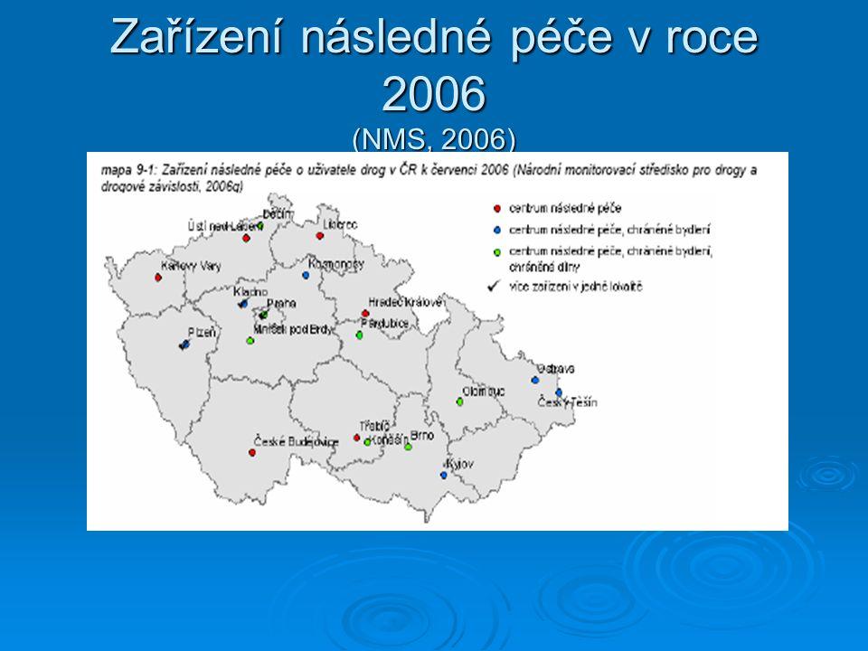 Zařízení následné péče v roce 2006 (NMS, 2006)