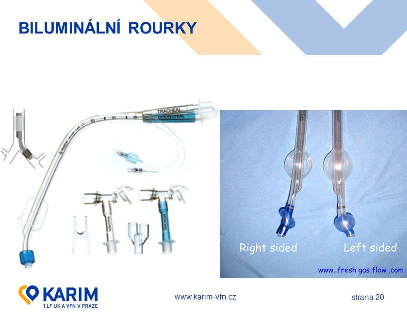 www.karim-vfn.cz BILUMINÁLNÍ ROURKY strana 20